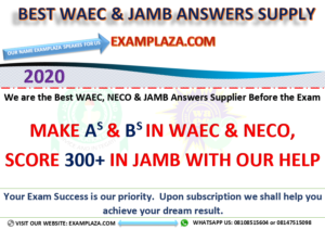 WWW.WAEC EXAM ANSWERS.COM